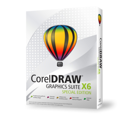 CorelDRAW Graphics Suite X6 PL Win - Small Business Edition