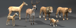 DOSCH 3D: Lo Poly Animals