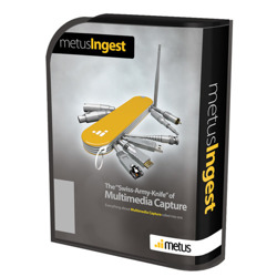 metus Ingest Professional - Additional Encoder (Source)